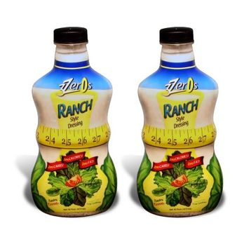 3 Zeros Calorie Free Dressing Ranch, 2pack