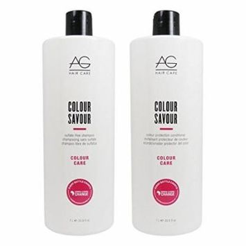 AG Hair Colour Savour Shampoo & Conditioner 33.8oz Duo