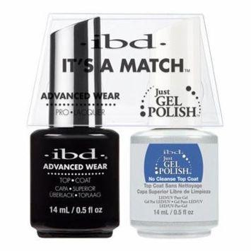 ibd Advanced Wear Color Duo - No Cleanse Top Coat #66549 UV Gel Color
