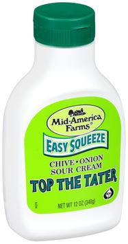 Mid-America Farms® Easy Squeeze Top the Tater® Chive & Onion Sour Cream