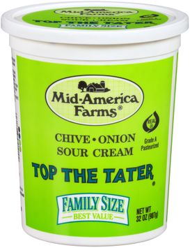 Mid-America Farms® Top the Tater® Chive & Onion Sour Cream