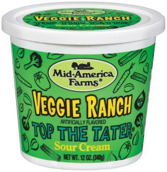 Mid-America Farms® Top the Tater® Veggie Ranch Sour Cream