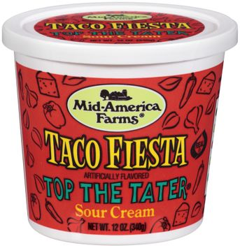 Mid-America Farms® Top the Tater® Taco Fiesta Sour Cream