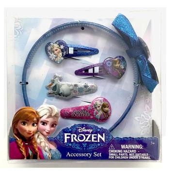 Disney Frozen Girl's 5-Piece Hair Accessory Set