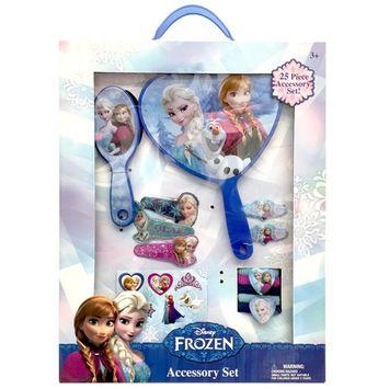 Disney Frozen Girl's 25-Piece Hair Accessory Kit