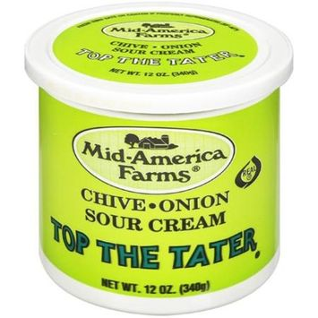 Mid-America Farms Chive-Onion Top The Tater Sour Cream, 12 oz