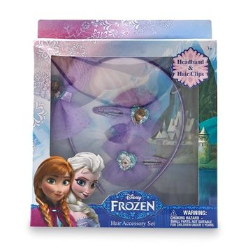 Disney Frozen Girl's 3-Piece Hair Accessory Set