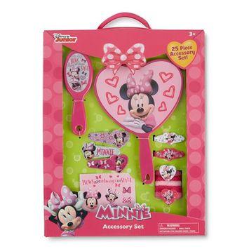 Disney Minnie Mouse Girls' 25-Piece Accessory Set