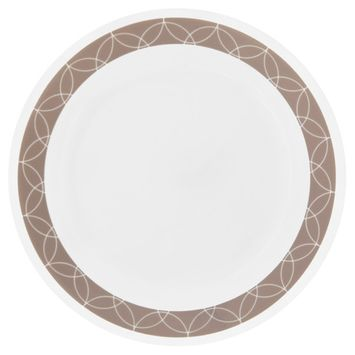 Corelle Sand Sketch Lunch Plate