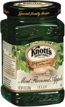 Knott's Berry Farm Mint Flavored Apple Jelly