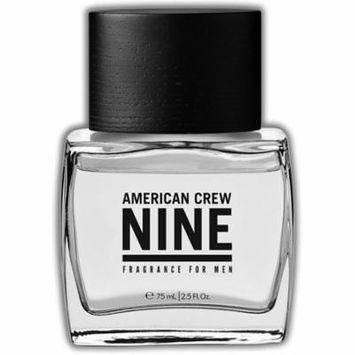 6 Pack - American Crew Nine Fragrance Spray for Men 2.5 oz