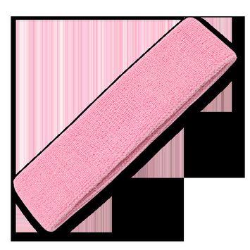 Soft Terry Cloth Elastic Sports Headbands Sweatband Yoga Gymn For Men Women Pink