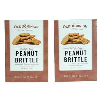 Dominion Light & Crispy Peanut Brittle 6 oz - 2pk