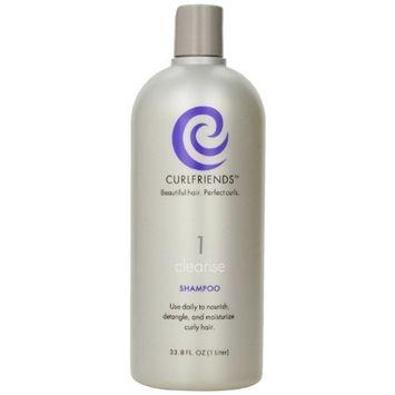 CURLFRIENDS Cleanse Shampoo, 33.8-Ounce