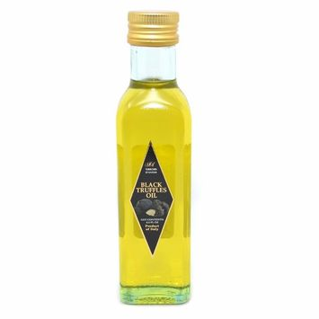 Terroirs D'antan Black Truffle Oil – 8.4 oz – Extra Virgin Pure Olive Oil Cold Pressed from Italy – Vegan, Non-GMO, No MSG