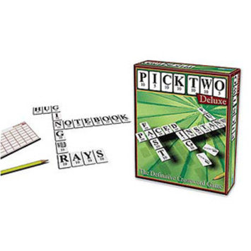 Outset Media Pick Two Deluxe Crossword Game Ages 8+, 1 ea