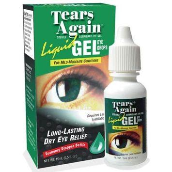 Ocusoft Tears Again Eye Drops, Liquid Gel, for Mild-Moderate Conditions, 0.5 Fluid Ounce (15 ml)