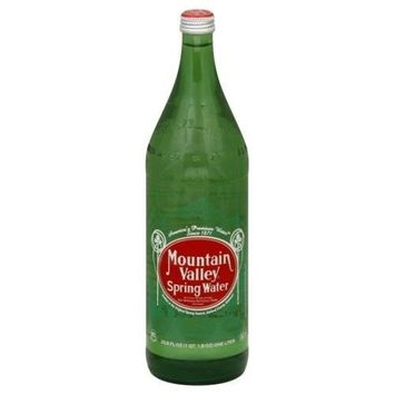 Mountain Valley Spring Water Prem Sprng Water Glass 12x 33.8OZ