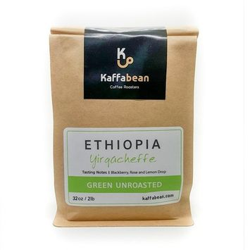 Ethiopian Yirgacheffe Coffee, Green Unroasted Coffee Beans (2lb)