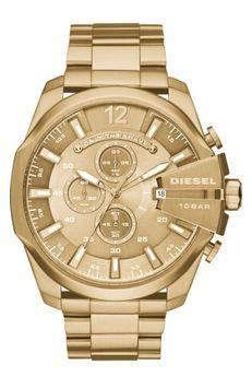 Dieselr Men's Diesel 'Mega Chief' Chronograph Watch, 51mm