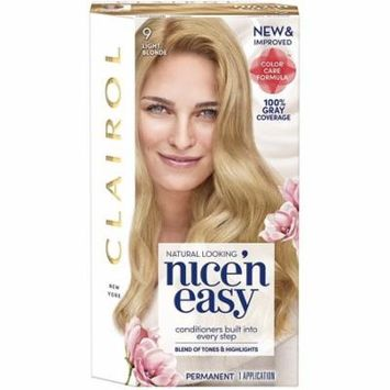 Clairol Nice 'n Easy Permanent Color [9] Light Blonde 1 Kit