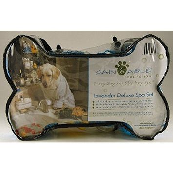 Cain & Able Collection Deluxe Spa Set for Dogs