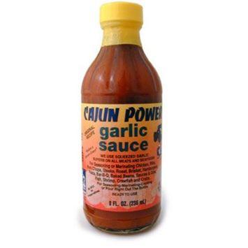Cajun Power Garlic Sauce, 8 Ounce