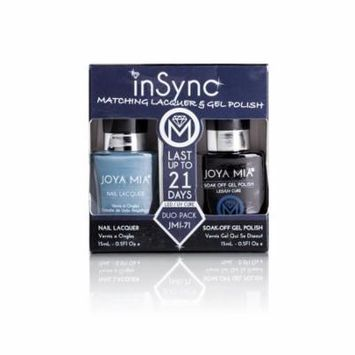 JOYA MIA® InSync® JMI-71 Perfect matching gel and nail polish Duo Set