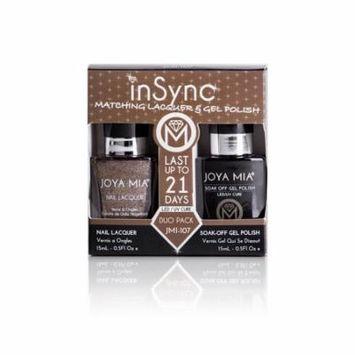 JOYA MIA® InSync® JMI-107 Perfect matching gel and nail polish Duo Set