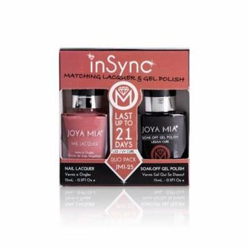JOYA MIA® InSync® JMI-25 Perfect matching gel and nail polish Duo Set