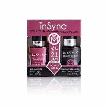 JOYA MIA® InSync® JMI-34 Perfect matching gel and nail polish Duo Set