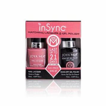 JOYA MIA® InSync® JMI-27 Perfect matching gel and nail polish Duo Set