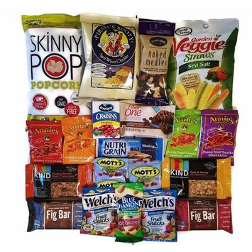 Healthy Snacks Care Package (20 Count)