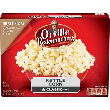 Conagra Foods 's Kettle Korn Microwave Popcorn - 6ct, Orville Redenbacher