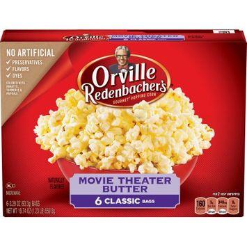 Conagra Foods Orville Redenbacher's Movie Theater Butter Popcorn Pop Up Bowl 6ct - 17.4oz