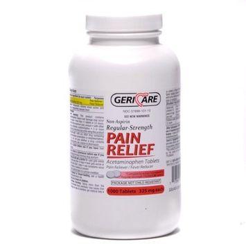 Non Aspirin Pain Reliever Tablets 1000/bottle