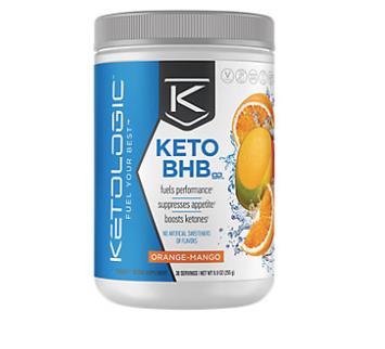KetoLogic Keto BHB Orange-Mango