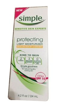 NEW SIMPLE SENSITIVE SKIN 4.2 fl oz