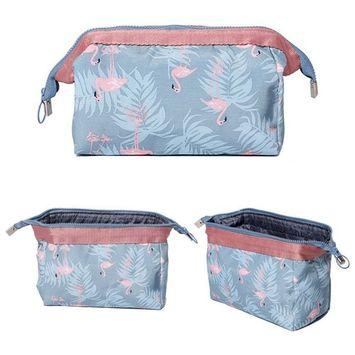 CICI&JOY Makeup Bag/Travel Cosmetic Bags, Large Capacity Fashion Women Portable Organizer Pouch Toiletry Bag