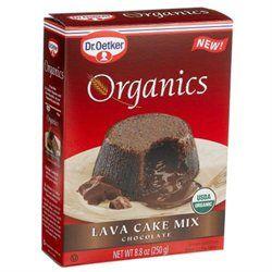 DR OETKER ORGANIC'S Organic Chocolate Lava Cake Mix 8.8 OZ