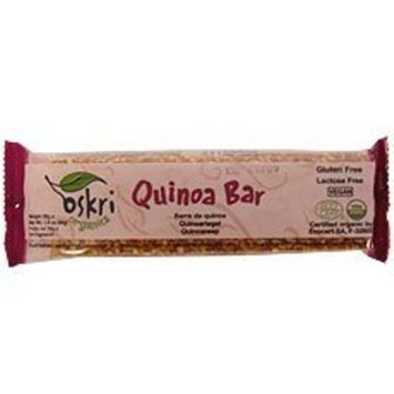 Oskri Organics Oskri Quinoa Bars 80x 1.9Oz