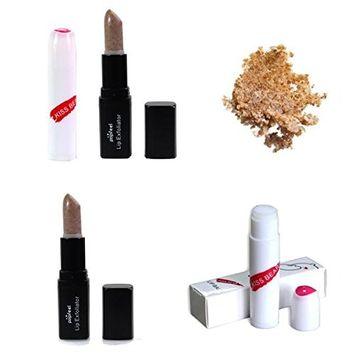Homyl 3 Pieces Lip Exfoliating Exfoliator Scrub and 3 Pieces Lip Balm, Moisturizing Lip Cosmetic Makeup Tool