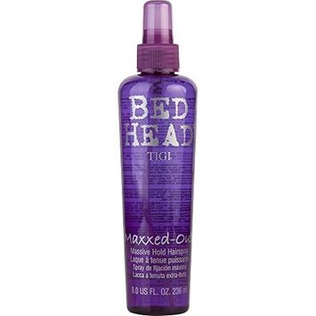 BED HEAD by Tigi MAXXED OUT 8 OZ ( Package Of 4 )