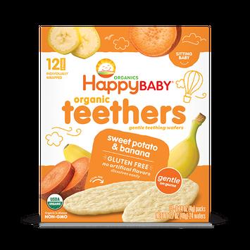 Happy Baby® Organic Teething Wafers, Sweet Potato & Banana