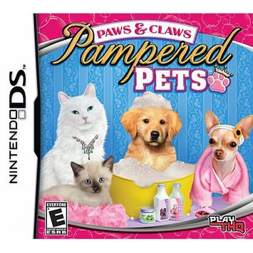 Thq 36216 Paws Claws Pampered Pets Nintendo Ds