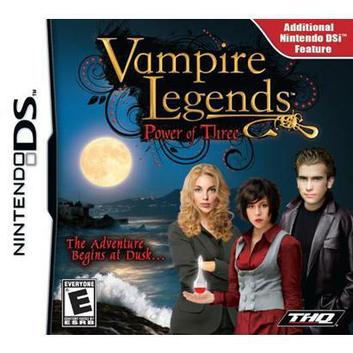 THQ Vampire Legends: Power of Three (Nintendo DS)