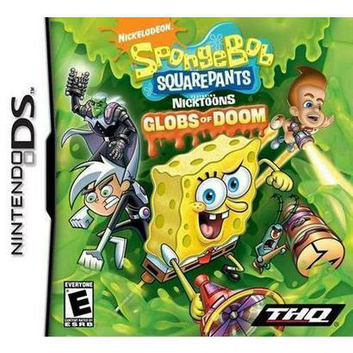 THQ SpongeBob SquarePants Featuring Nicktoons: Globs of Doom (Nintendo DS)