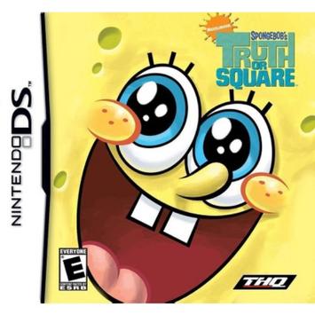 THQ SpongeBob's Truth or Square (Nintendo DS)