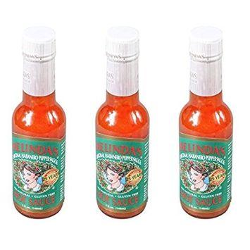Melindas Sauce Hot, 5 oz (Pack of 3) …