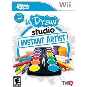 uDraw Studio: Instant Artist Wii Game THQ